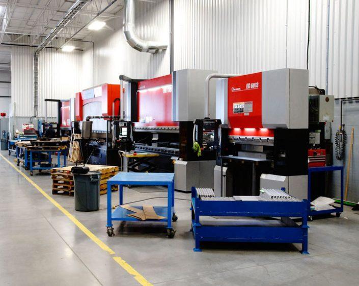 CNC Brake Forming