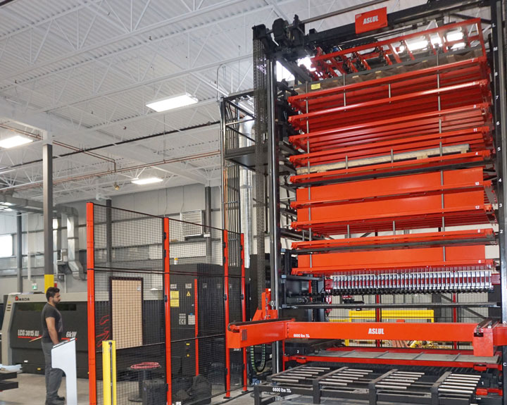 Sheet Metal Storage